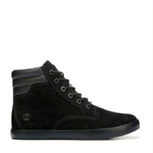 Timberland black suede sneakers size 9